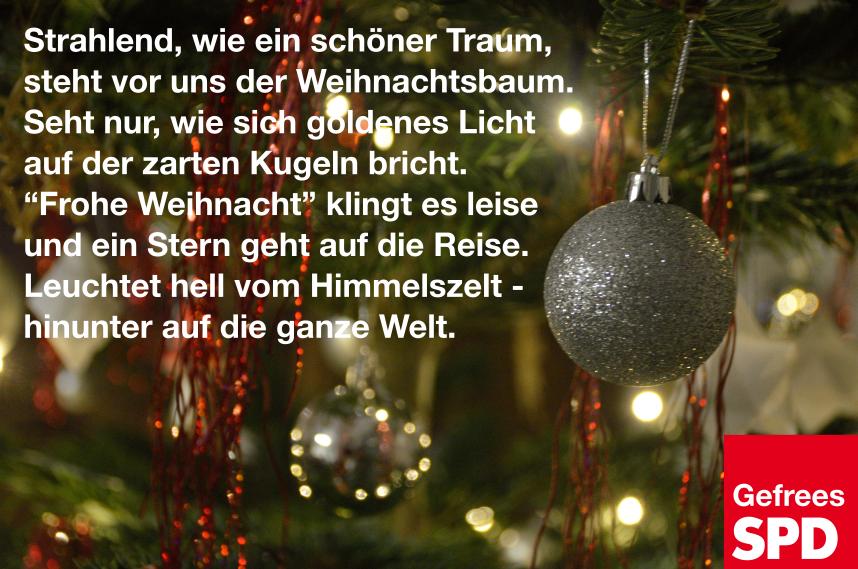 Wir Wünschen Euch Frohe Und Besinnliche Weihnachten.Frohe Weihnachten Spd Gefrees